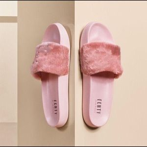 Women s Puma Fenty Slides Pink on Poshmark b1b68210379